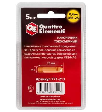 Насадка для работы с газовым паяльником и горелкой QUATTRO ELEMENTI 771-213