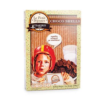 Готовый завтрак TSAKIRIS FAMILY шоколадные лепестки 250г Греция