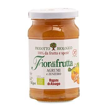 Конфитюр Fiordifrutta из цитрусовых с имбирем (без сахара) Rigoni  di Asiago Spa 260 г