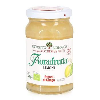 Конфитюр Fiordifrutta лимонный (без сахара) Rigoni  di Asiago Spa 260 г Италия