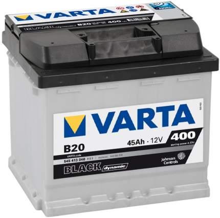 Аккумулятор VARTA Black Dynamic 45 А/ч 545 413 040 прямая L+ EN 400A 207x175x190 B20 545 4
