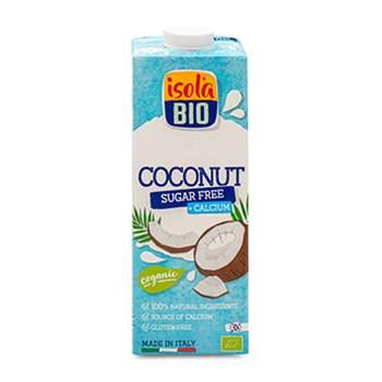 Напиток кокосовый органический с добавлением кальция без сахара ISOLA BIO 1 л, Италия