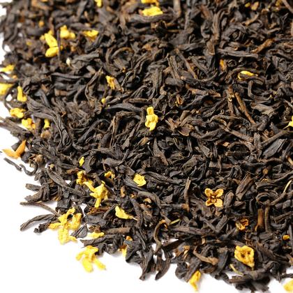 Красный чай Гуй Хуа Хун Ча (с османтусом), 100 г