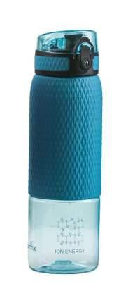 Водородно-минеральная бутылка Vione Mineral Bottle С силиконовой вставкой голубая