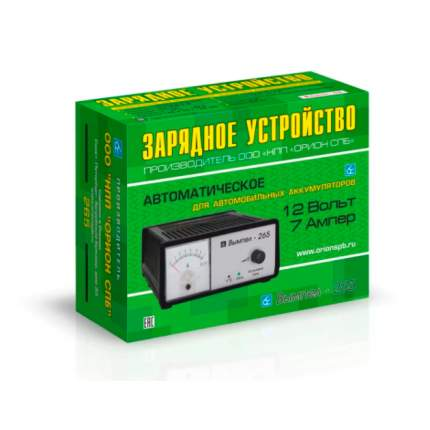 Зарядное Устройство Автомат, 0-7а, 12в, Стрелочный Амперметр Вымпел-265 ВЫМПЕЛ арт. 2049