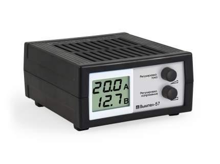 Устройство зарядное 12V 20А 200Ач 220V (ручной режим) с ЖК дисплеем ОРИОН