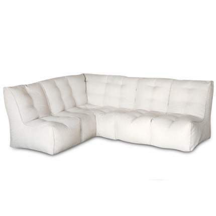 Бескаркасный модульный диван DreamBag Shape +3 one size, рогожка, Бежевый