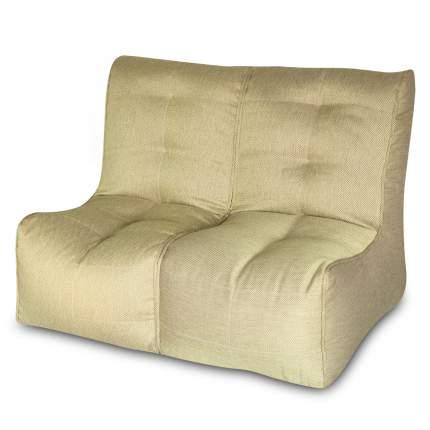 Бескаркасный модульный диван DreamBag Shape 2 one size, рогожка, Оливковый