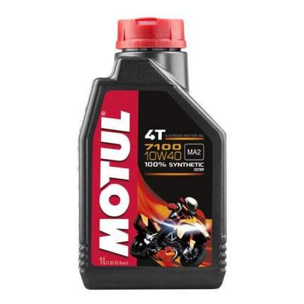 Моторное масло Motul 7100 4T SAE 10W-40
