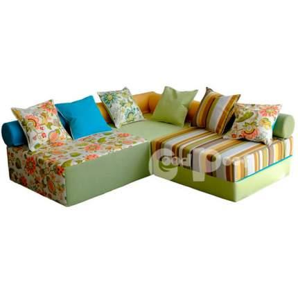 Бескаркасный модульный диван GoodPoof Family-I one size, жаккард, Разноцветный