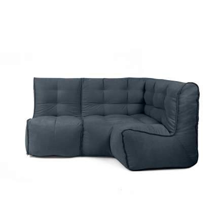 Бескаркасный модульный диван GoodPoof Мод L-I one size, велюр, Marengo Wool