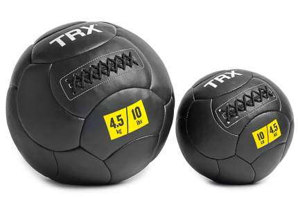 Медицинбол TRX EXMDBL-10-6, черный, 2,72 кг