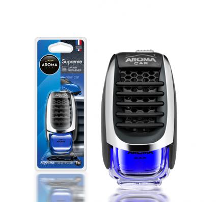 Ароматизатор на дефлектор жидкостный (новая машина) 7мл Supreme AROMA CAR