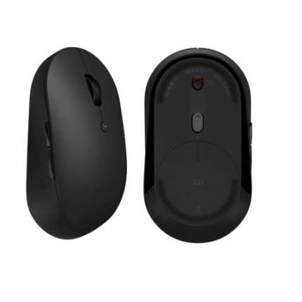 Беспроводная мышь Xiaomi Mi Dual Mode Wireless Mouse Silent Edition Black RU EAC