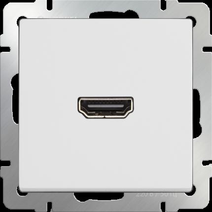Розетка HDMI Werkel WL01-60-11 белая