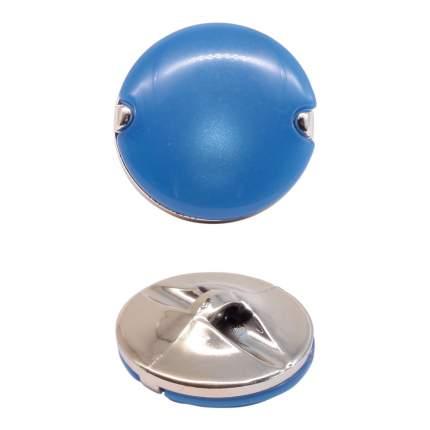 Пуговица на ножке, 28L, цвет: синий, 36 штук, арт. 3AR155 (количество товаров в комплекте: