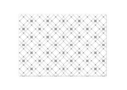 Коврик двусторонний Funnylon round star звезды, 140х200