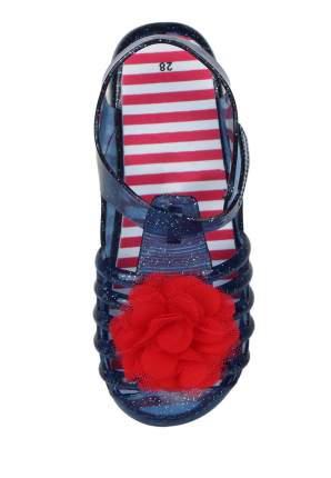 Резиновая обувь для девочек Honey Girl, цв. синий, р-р 26