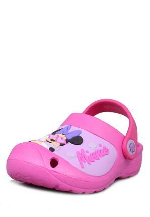 Сабо детские Minnie Mouse, цв. розовый р.29