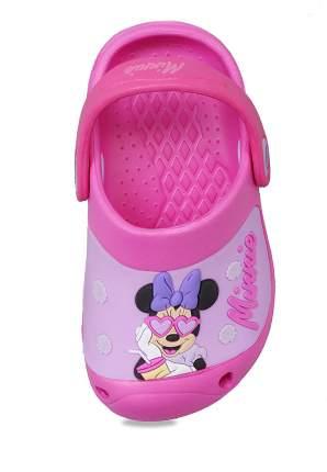 Сабо детские Minnie Mouse, цв. розовый р.26