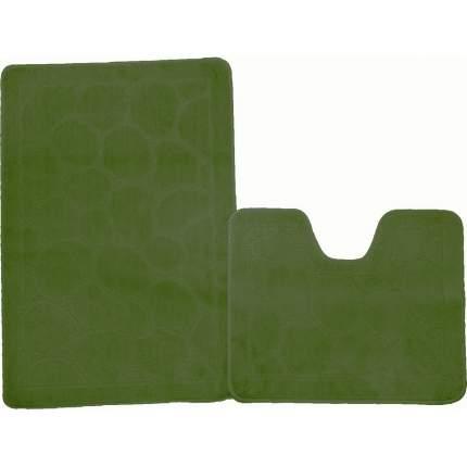 Коврик 50*80зеленый (2предметы) Standart Малый