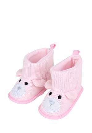 Пинетки для девочек Kari baby, цв. розовый, р-р 18