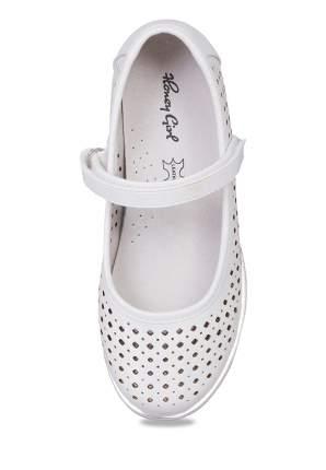Туфли детские Honey Girl, цв. серебристый р.27