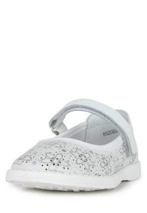 Туфли для девочек Alessio Nesca, цв. белый, р-р 24