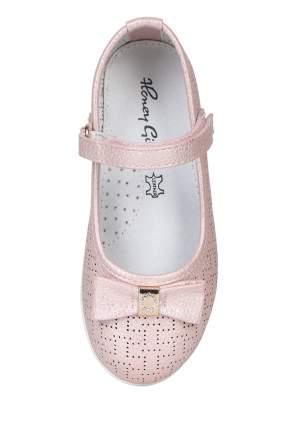 Туфли для девочек Honey Girl, цв. розовый, р-р 26
