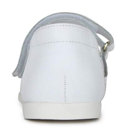 Туфли для девочек Alessio Nesca, цв. белый, р-р 26