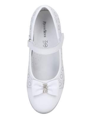 Туфли для девочек Alessio Nesca, цв. белый, р-р 35