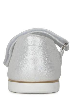 Туфли для девочек Honey Girl, цв. серебристый, р-р 26