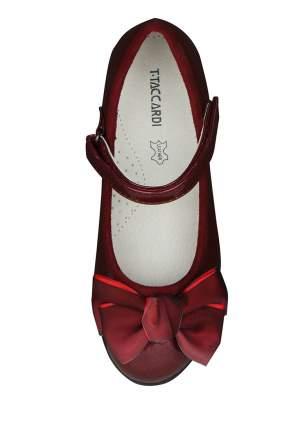 Туфли детские T.Taccardi, цв. бордовый р.32