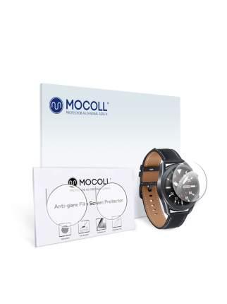 Пленка защитная MOCOLL для дисплея Samsung Galaxy Watch 3 45mm 2 шт Прозрачная глянцевая