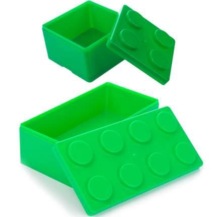 """Набор шкатулок-органайзеров Baby Fox, """"Конструктор"""", 2 шт, зеленый"""