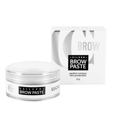 Паста для бровей серебряная Lucas Cosmetics Silver Brow Paste by CC Brow