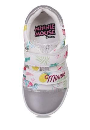 Кеды детские Minnie Mouse, цв. серебристый р.21