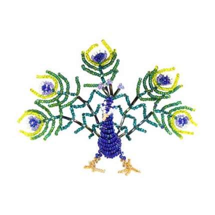 Набор для бисероплетения Hobby & Pro pearl Фигурка Райская птичка