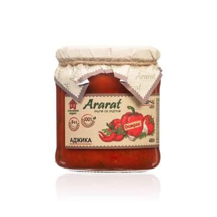 "Аджика острая ""Ararat"" 480гр. ст.,"