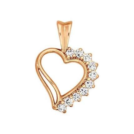 Подвеска «Сердце» SOKOLOV из золоченого серебра 93030001