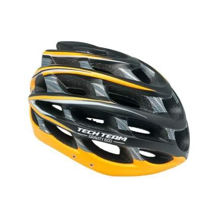 Шлем защитный Tech Team Gravity 600 (черный с оранжевым)