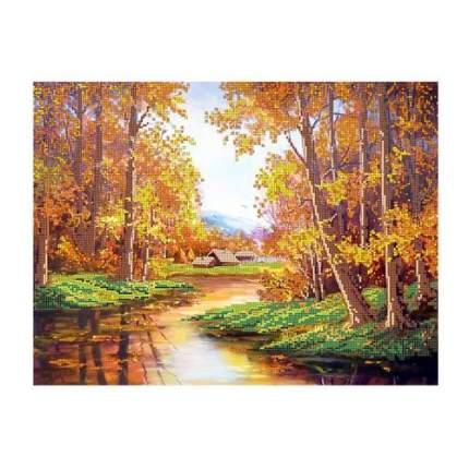 Набор для вышивания бисером Hobby&Pro 'Осенняя пора', 40*30 см 484372