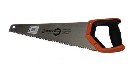 Ножовка по дереву ВИХРЬ 450 мм 3D заточка