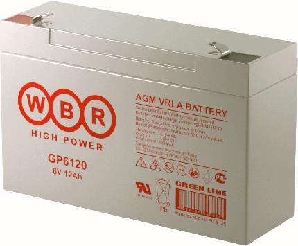 Аккумулятор для ИБП WBR GP6120WBR