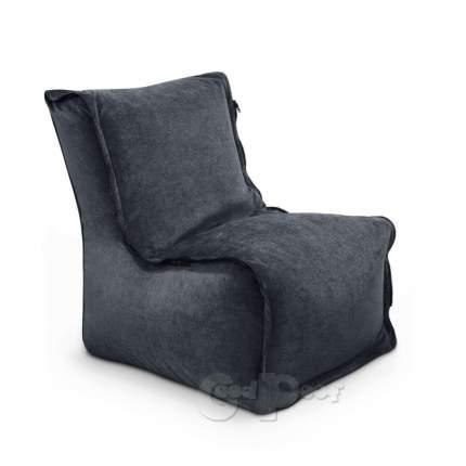 Бескаркасный модульный диван GoodPoof Деко one size, микровельвет, Anthracite