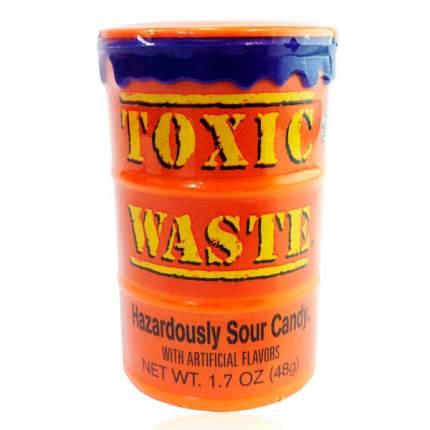 Самые кислые конфеты в мире Toxic Waste Nuclear Fusion (оранжевая банка) 42 гр.