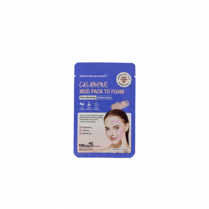 Каламиновая маска-пенка MBeauty для очищения пор, 7мл х 3шт, MBeauty