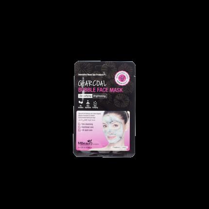Очищающая пузырьковая маска для лица MBeauty с древесным углем, 20мл