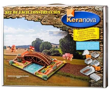Конструктор из Обоженной Глины Мост Леонардо, 650 Деталей