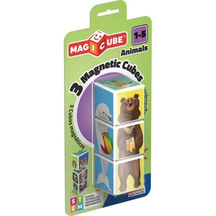 Конструктор Магнитный Magicube. Животные 3 Детали